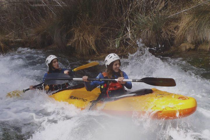 Kayak Tandem río cabriel