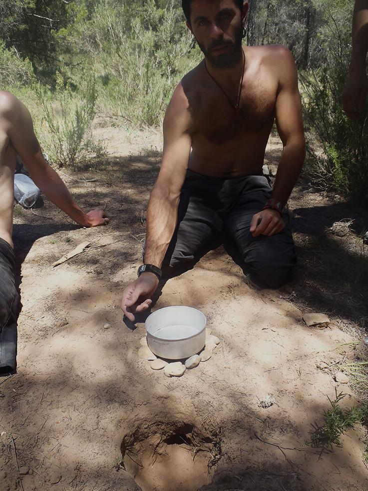 Curso de supervivencia - Cocina